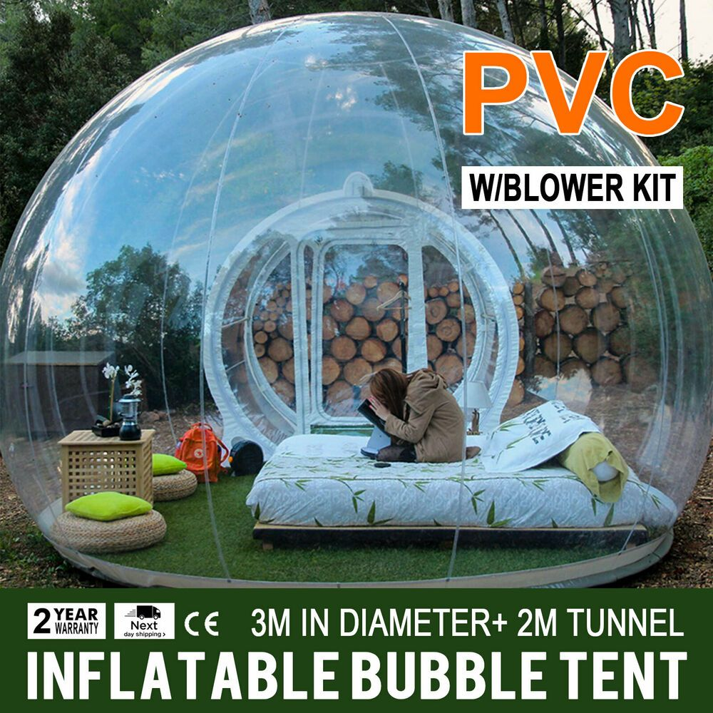 Marvelous Advertisement Ebay Transparent Single Inflatable Bubble Download Free Architecture Designs Rallybritishbridgeorg
