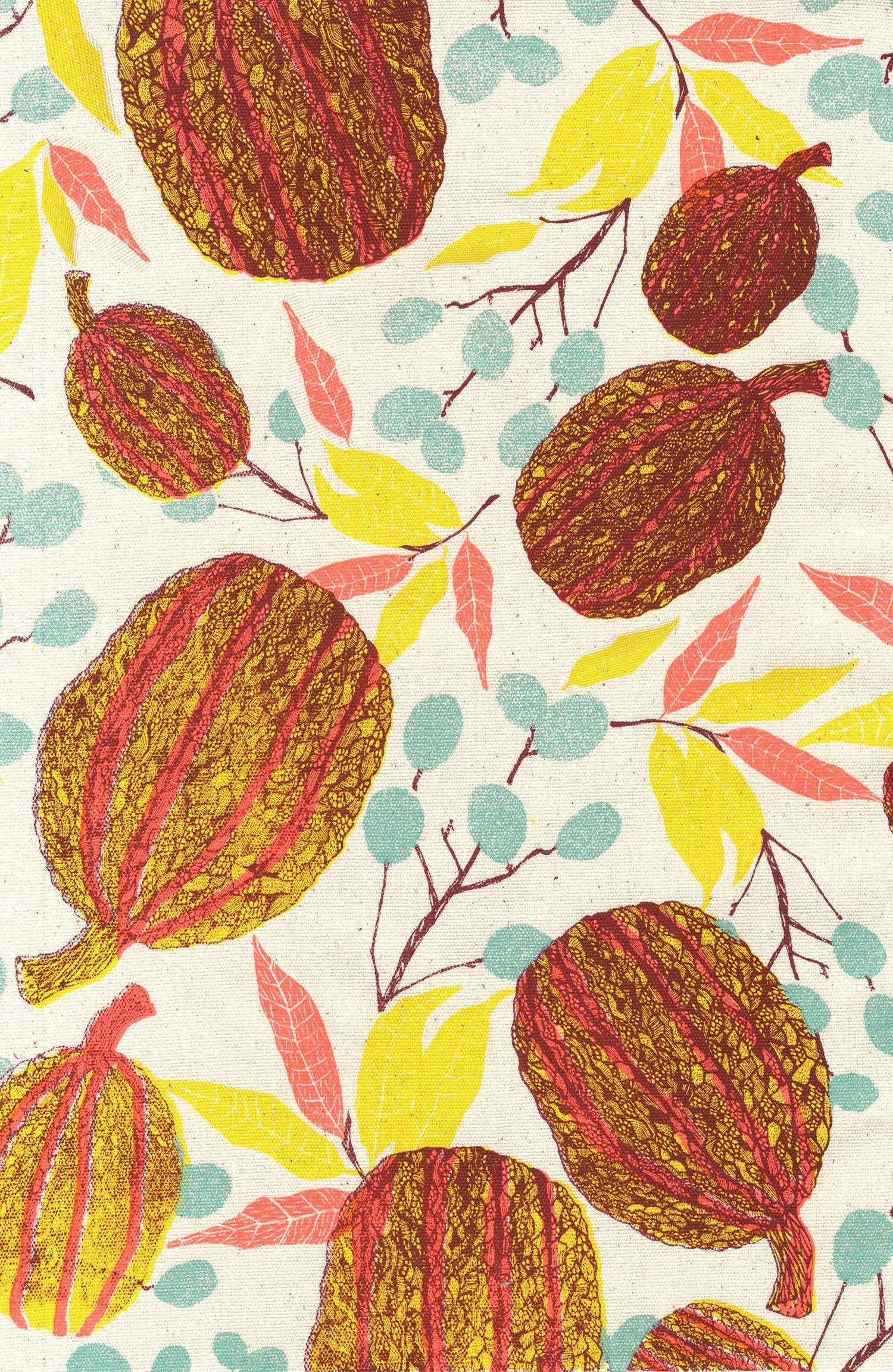 Patterned Fruits Series By Hannah Rampley With Images Tropical