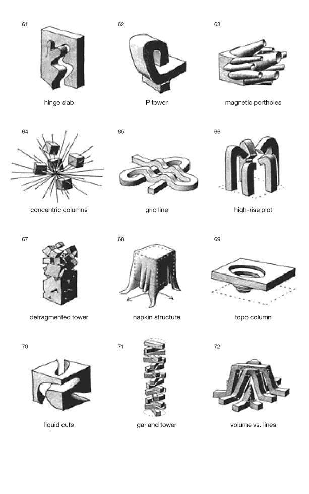 siteless  1001 building forms fran u00e7ois blanciak