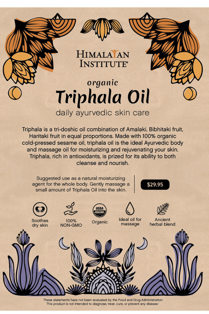 Triphala Oil 16oz | Ayurveda Products | Body care, Pure products