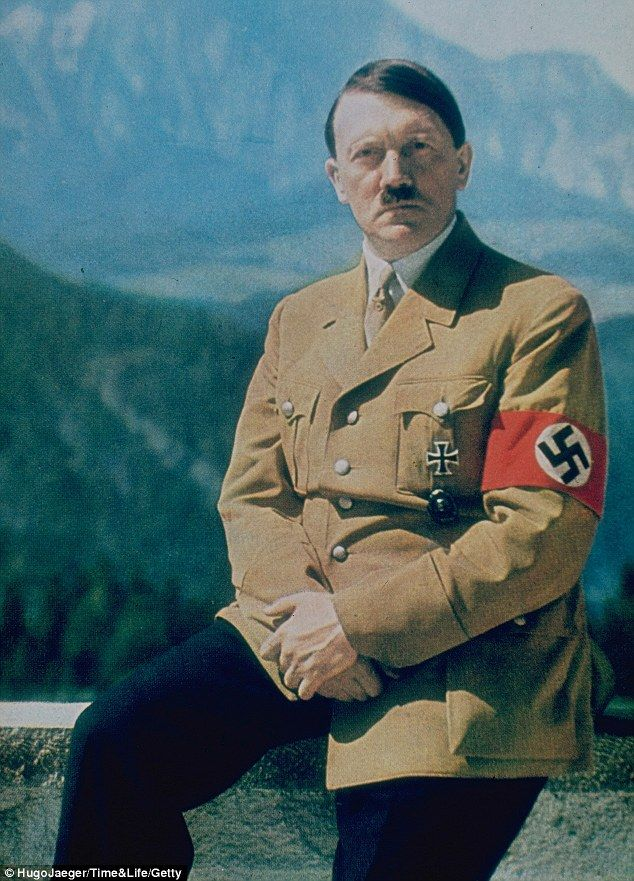 Image result for hitler colourised