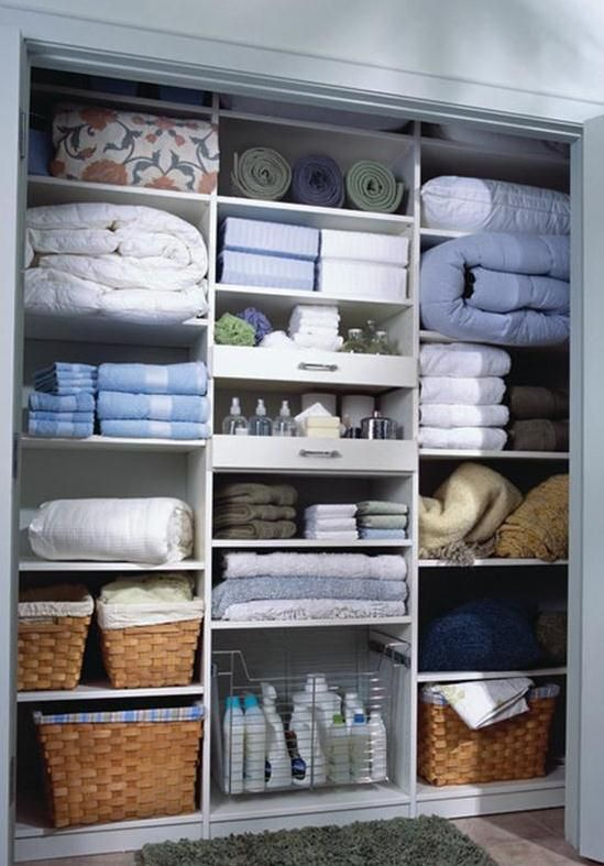 Linen Closets And Sticky Notes Linen Closet Design Linen Closet