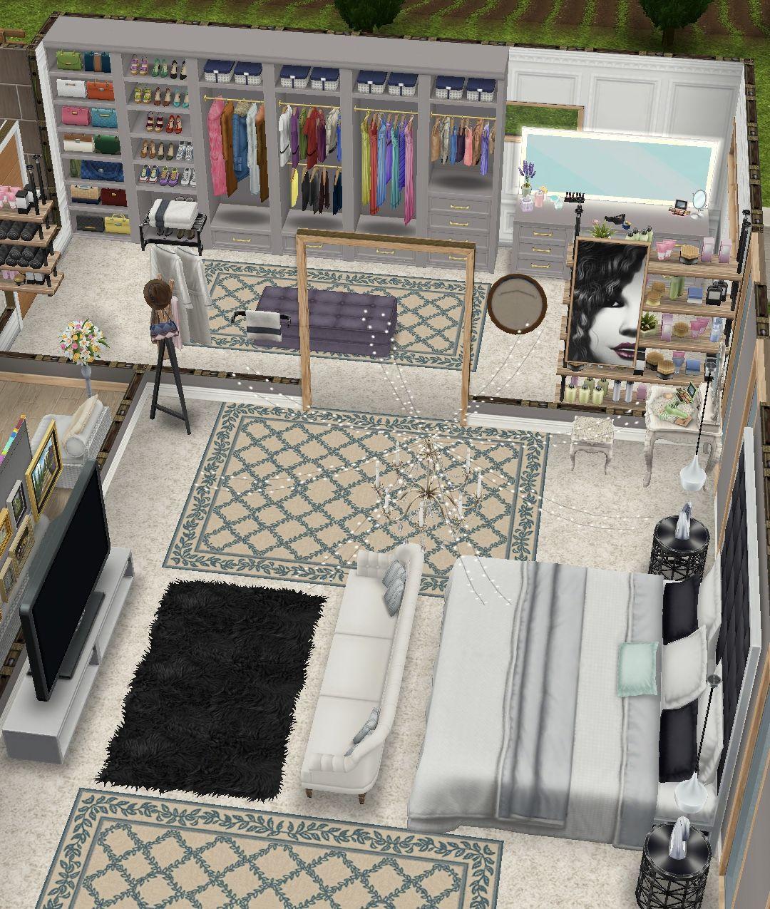 Pin von Karime Ramos auf The Sims   Haus innenarchitektur ...