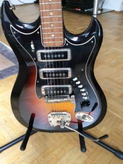 hagstr m iii gitarre gebraucht guter zustand in m nchen altstadt musikinstrumente und. Black Bedroom Furniture Sets. Home Design Ideas