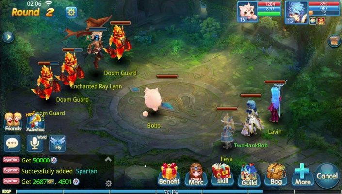 Chrono Tales is a Android Free-to-play Turn-Based, Role