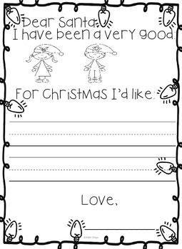 Carta Navidad Ingles Pre Escolar Pinterest Carta Navidad