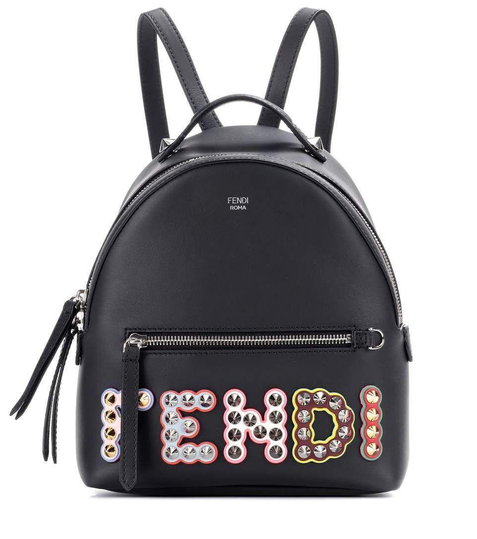 Fendi Bags Leather Lining Backpacks