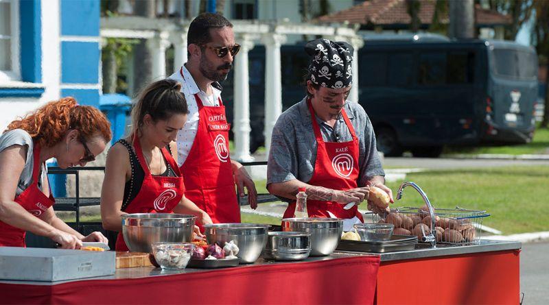 Masterchef Brasil Tem Primeira Prova Em Equipe Masterchef Gastronomia E Cozinheiros Em Acao