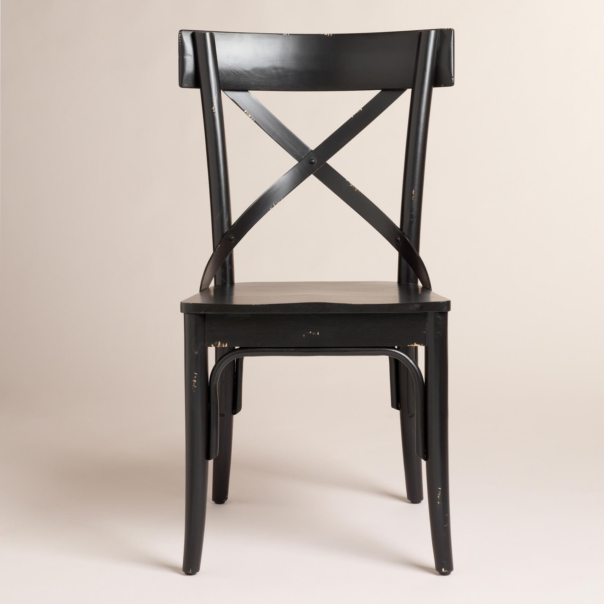 Black French Bistro Side Chairs Set Of 2 World Market Chair