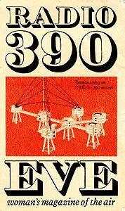 Radio 390: Eve - woman's magazine of the air