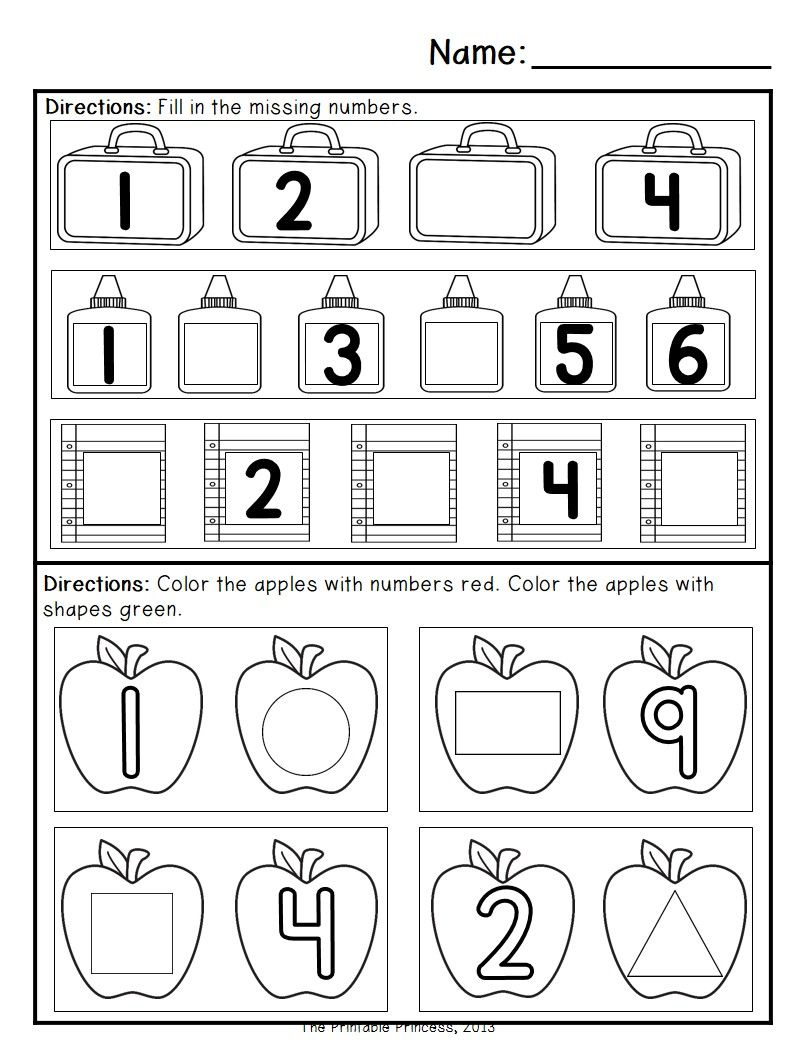 Kindergarten Morning Work: September | Morning work, Kindergarten ...