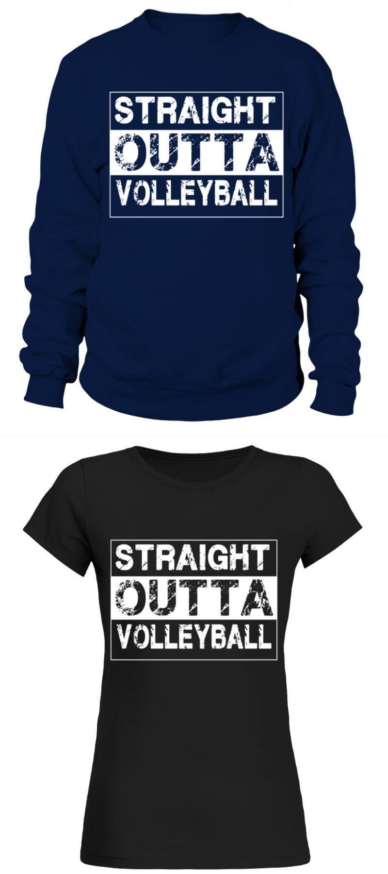 Volleyball T Shirt Design Templates Straight Outta Volleyball Sport