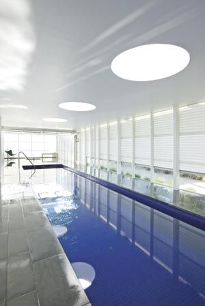 Indoor Pool Inspiration [ AqualineSaunas.com ] #pool #premier #luxury