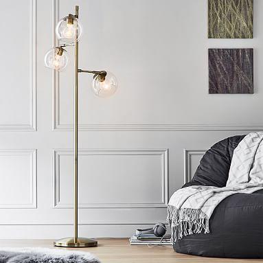 Glass Spotlight Floor Lamp With Images Spotlight Floor Lamp
