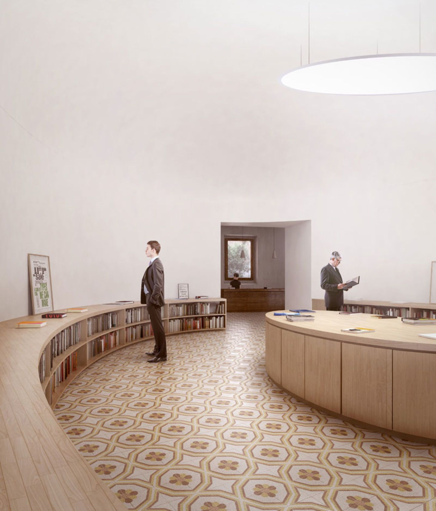 Durisch nolli intarsia divisare architecture for Raumgestaltung planer