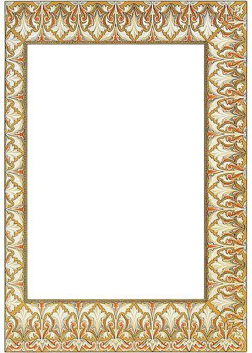 dover dec border 3 | Printable frames, Journal cards and Cards