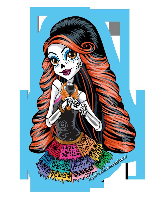 skelita calaveras by flooks on deviantart - Skelita Calaveras Halloween Costume