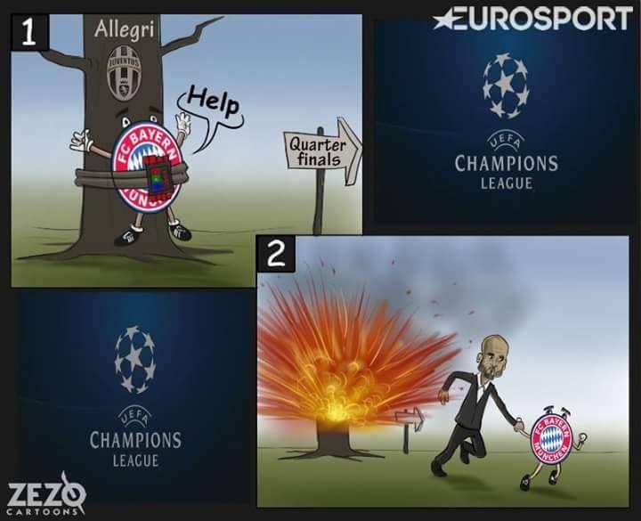 BayernMunich vs Juventus