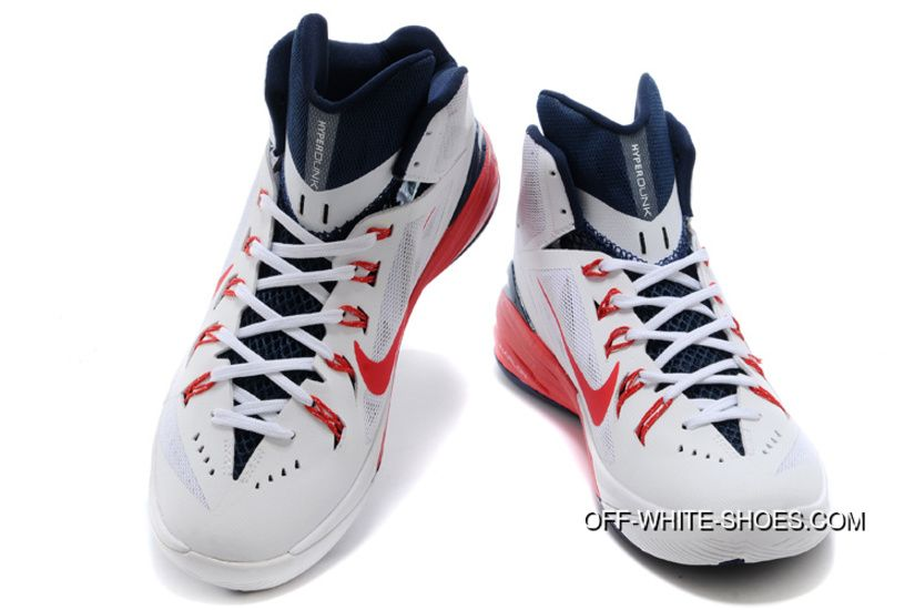 e502ee77aafd Nike Hyperdunk 2014 USA White University Red-Obsidian New Release ...