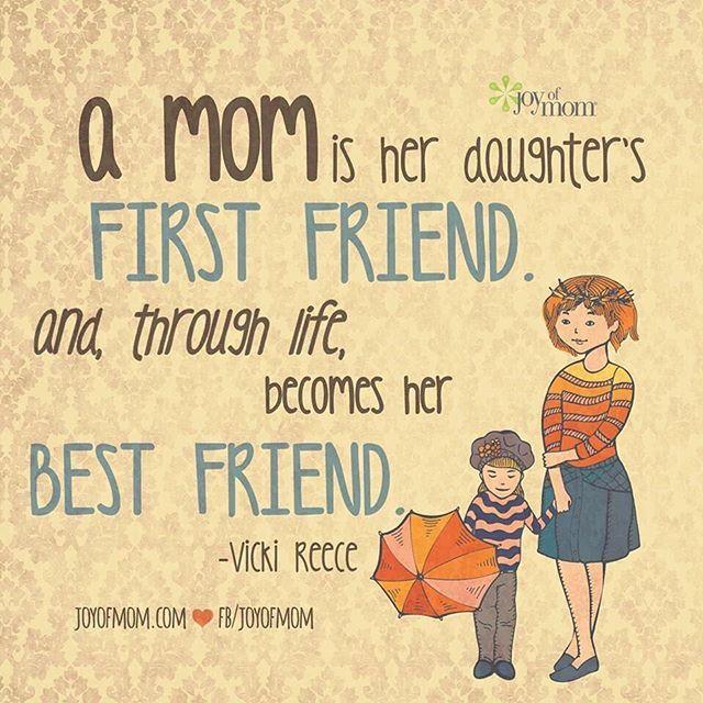 Una Madre È La Prima Amica Di Sua Figlia
