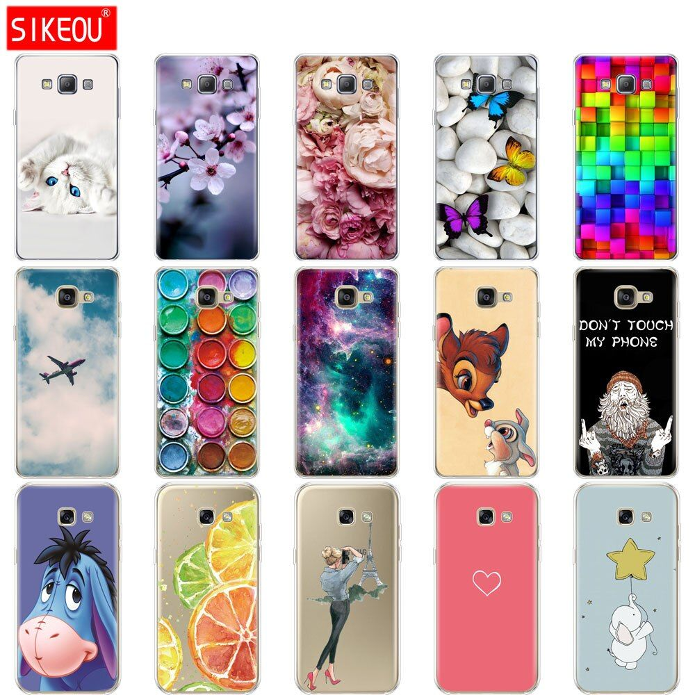 Silicone Case For Samsung Galaxy A3 A5 A7 2015 2016 2017 Case Cover A500 A510 A520 A300 A310 A320 A700 A710 A7 Silicon Case Cheap Phone Cases Samsung Galaxy A3
