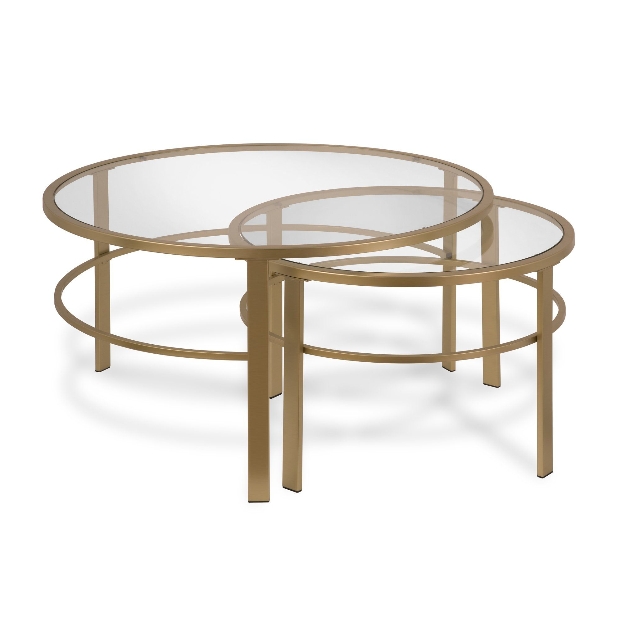 Evelyn Zoe Contemporary Nesting Coffee Table Set With Glass Top Walmart Com In 2021 Nesting Coffee Tables Round Nesting Coffee Tables Coffee Table [ 2000 x 2000 Pixel ]