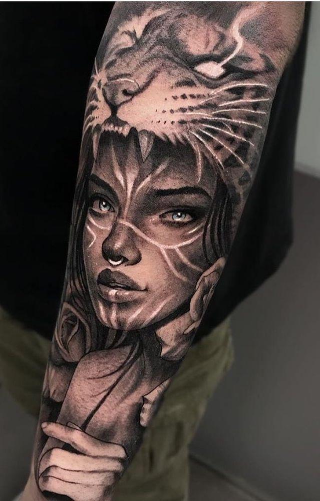 Pin De Sylvana Van Twist Em Tattoos Tatuagem De Tigre