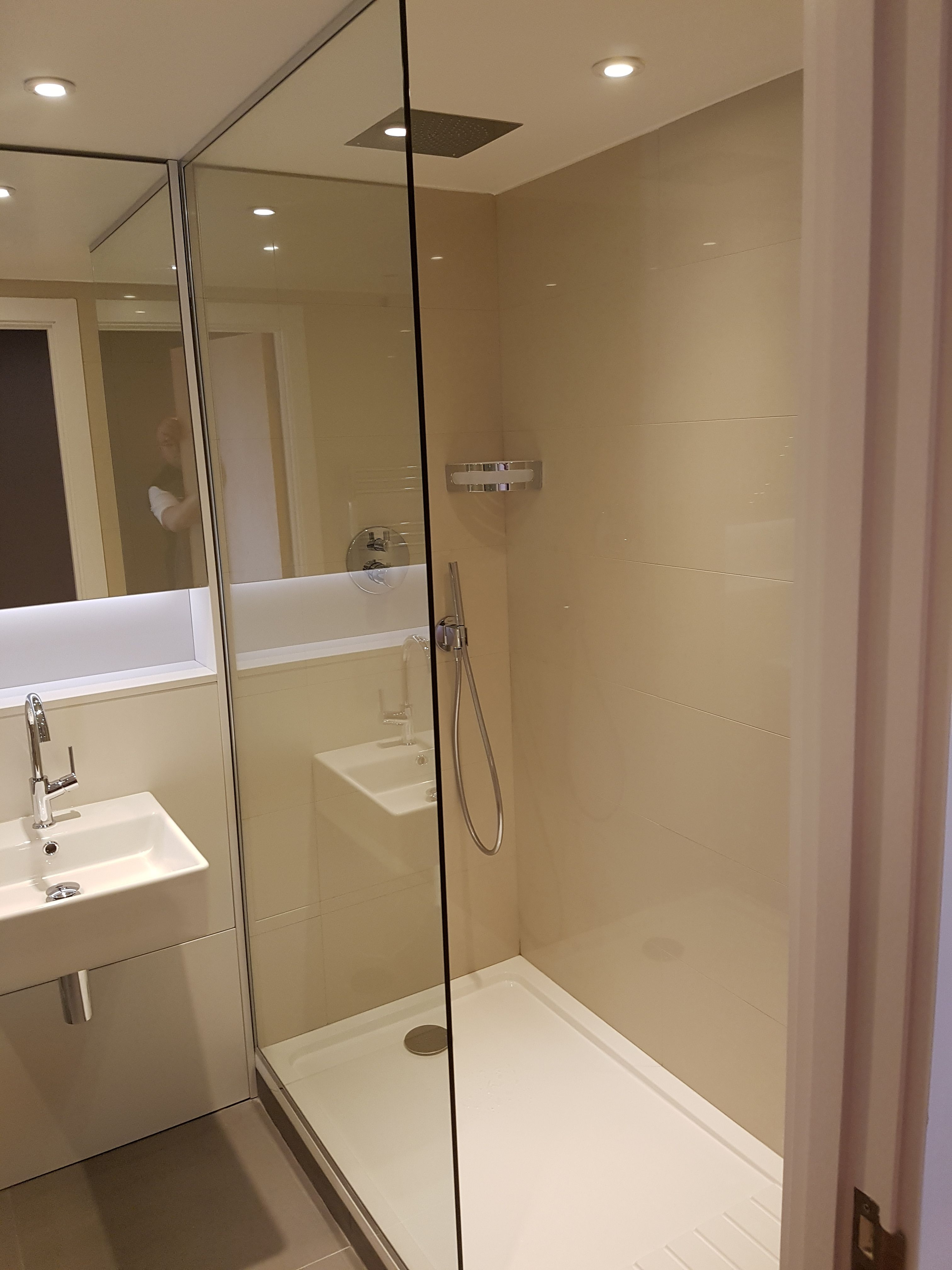 Bathroom Fitting In South West London  Build In Shower  Bathroom Inspiration Bathroom Designers And Fitters Design Ideas
