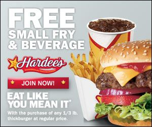 photo relating to Fry's Printable Coupons identify Free of charge Minor Fry Beverage Coupon at Hardees Discounts Totally free