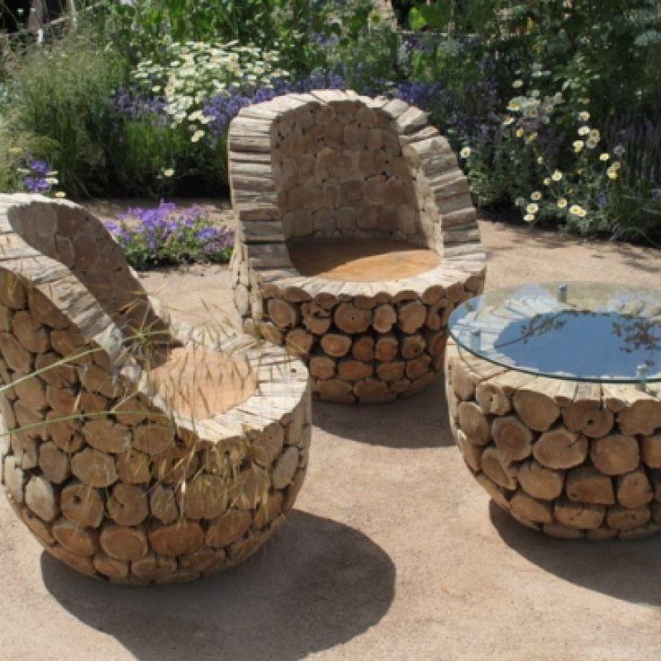 Log Cabin Outdoor Furniture Builder Rustic