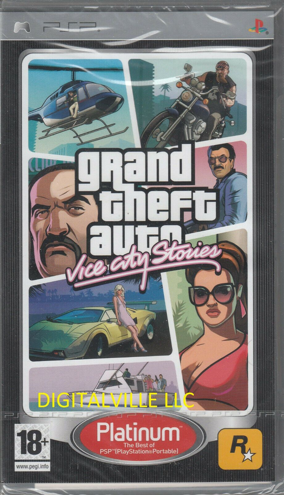 Grand Theft Auto Vice City Stories Sony Psp Brand New Factory Sealed Games Ideas Of Games Games Grand Theft Auto Vic Grand Theft Auto Theft Game Sales