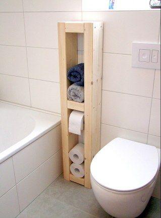 Badezimmer aufpimpen Mit DIESEN 18 Tricks wird euer Bad super - regale für badezimmer