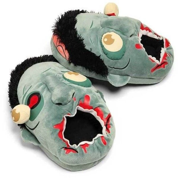 Zombie slippers with cuddly gouged eyeballs for The Walking Dead fans. | 21 Products From Amazon That'll Make Perfect Gifts