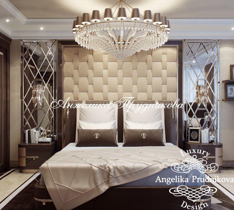 Дизайн проект интерьера квартиры в стиле Ар Деко в ЖК Фортепьяно на - schlafzimmer barock