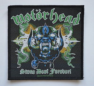 Motorhead Stone Deaf Forever Patch  http://www.ebay.co.uk/itm/Motorhead-Stone-Deaf-Forever-Patch-heavy-metal-rock-leather-denim-jacket-lemmy-/281210341254?pt=UK_Women_s_Vintage_Clothing&hash=item4179714786