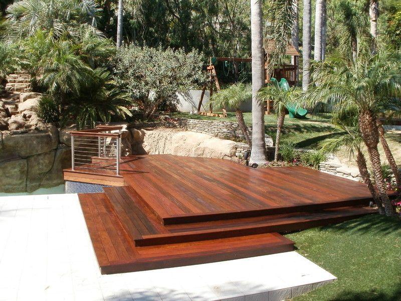 Ipe pool deck Malibu Ipe pool deck