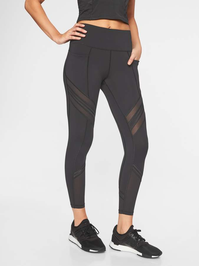 Activewear Women's Clothing Athleta Leggings Small With Mesh Choice Materials