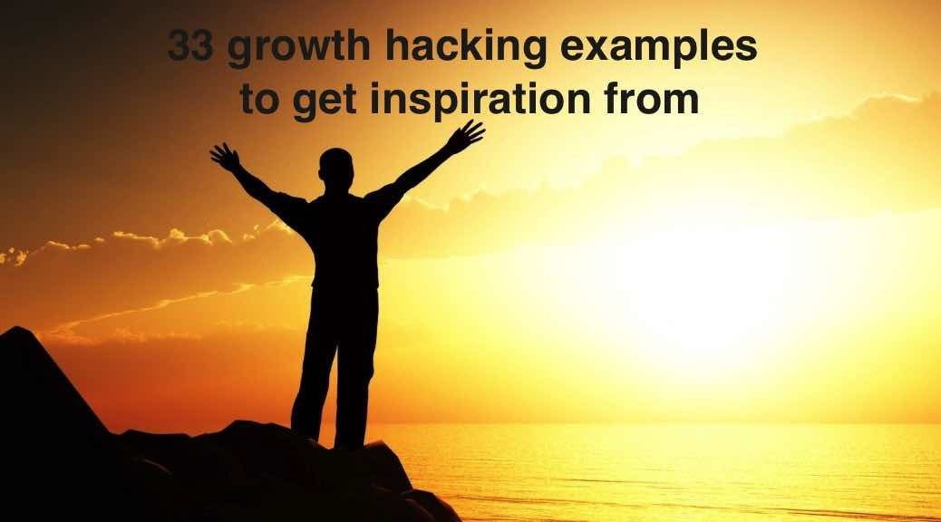 33 Growth Hacking Examples to get Inspiration from | Growth Hackers http://www.growth-hackers.net/growth-hacking-examples-inspiration/?utm_campaign=crowdfire&utm_content=crowdfire&utm_medium=social&utm_source=pinterest