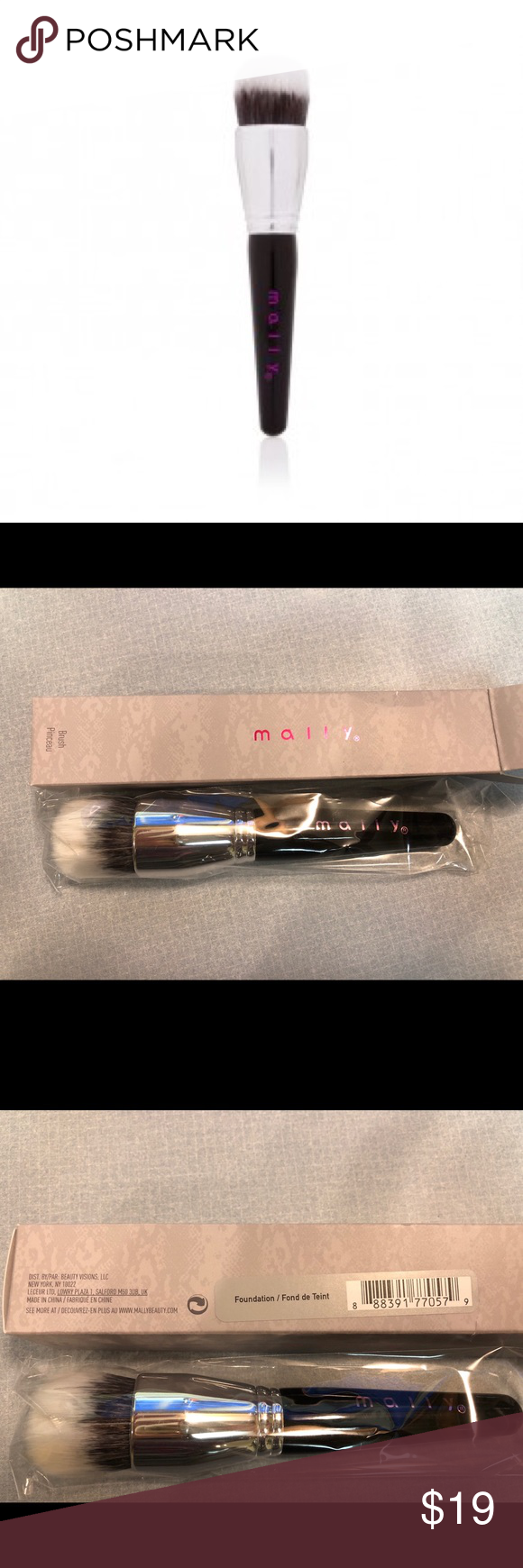 Mally Foundation Brush Boutique Mally makeup, Mally