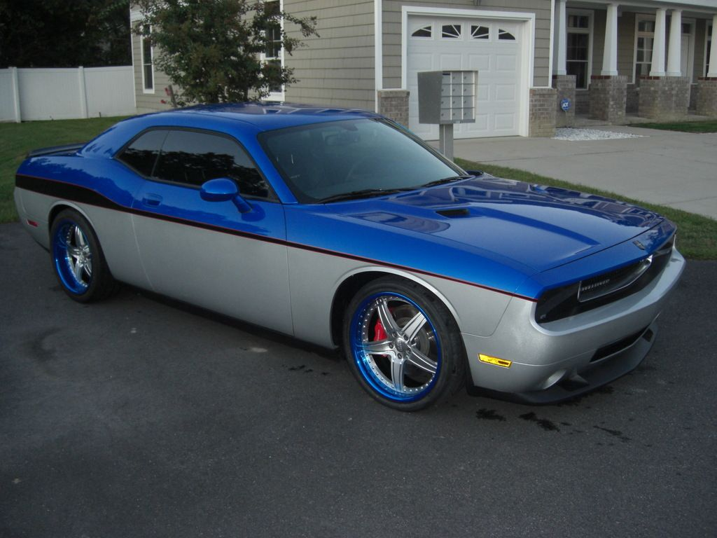 Dodge Challenger Custom Paint Jobs >> two+tone+paint+on+cars | Thread: Been thinking about two tone paint jobs for the RT | flames on ...