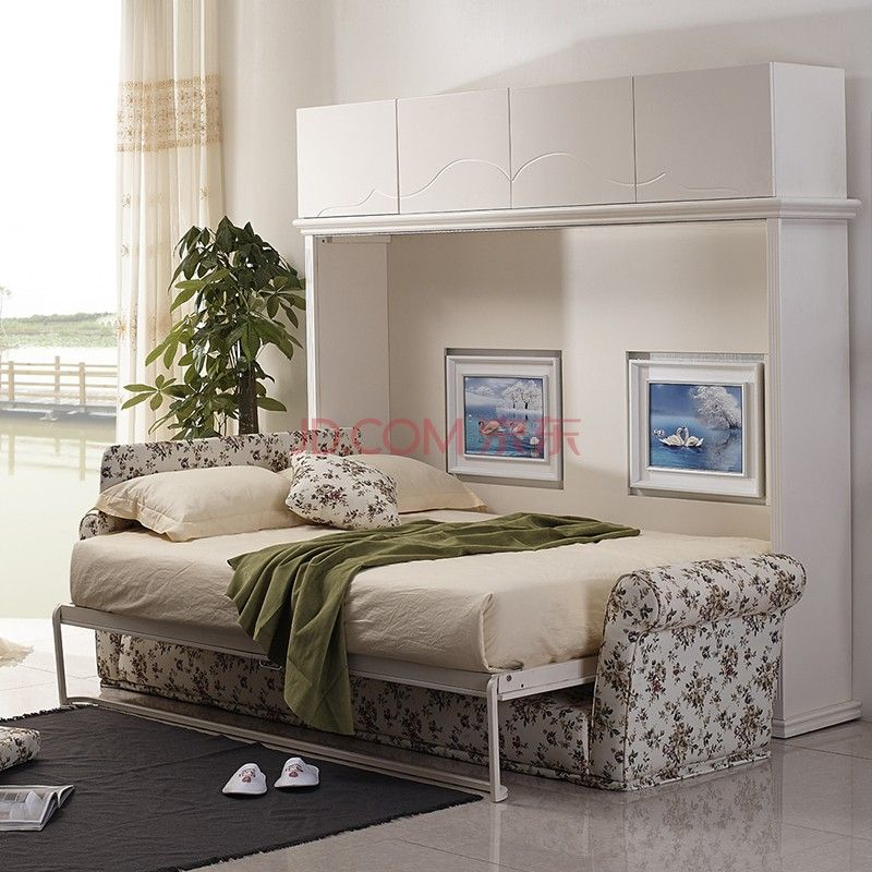 Korean Style Furniture Folding Wall Bed Hidden Wall Bed Murphy Bed With Sofa Buy Hidden Wall Bed Folding Wall Murphy Bed With Sofa Furniture Hidden Wall Bed