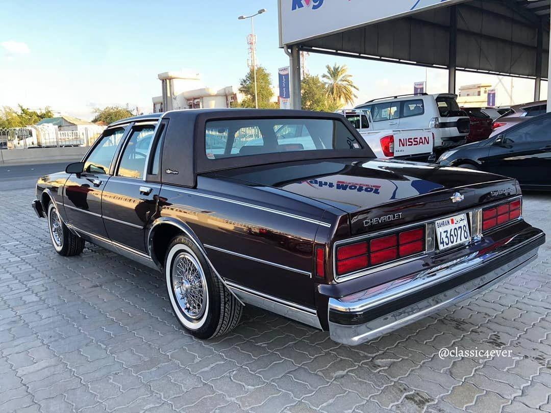 1989 Caprice Classic Sedan Squarebody Caprice Classic Chevrolet Caprice Chevrolet
