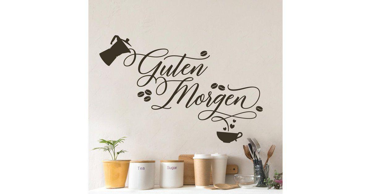 Wandtattoo Einen Guten Morgen Wandtattoo Material Folie Selbstklebende Oracal Wall Art Marken Spezialfolie Farbe Ei Einen