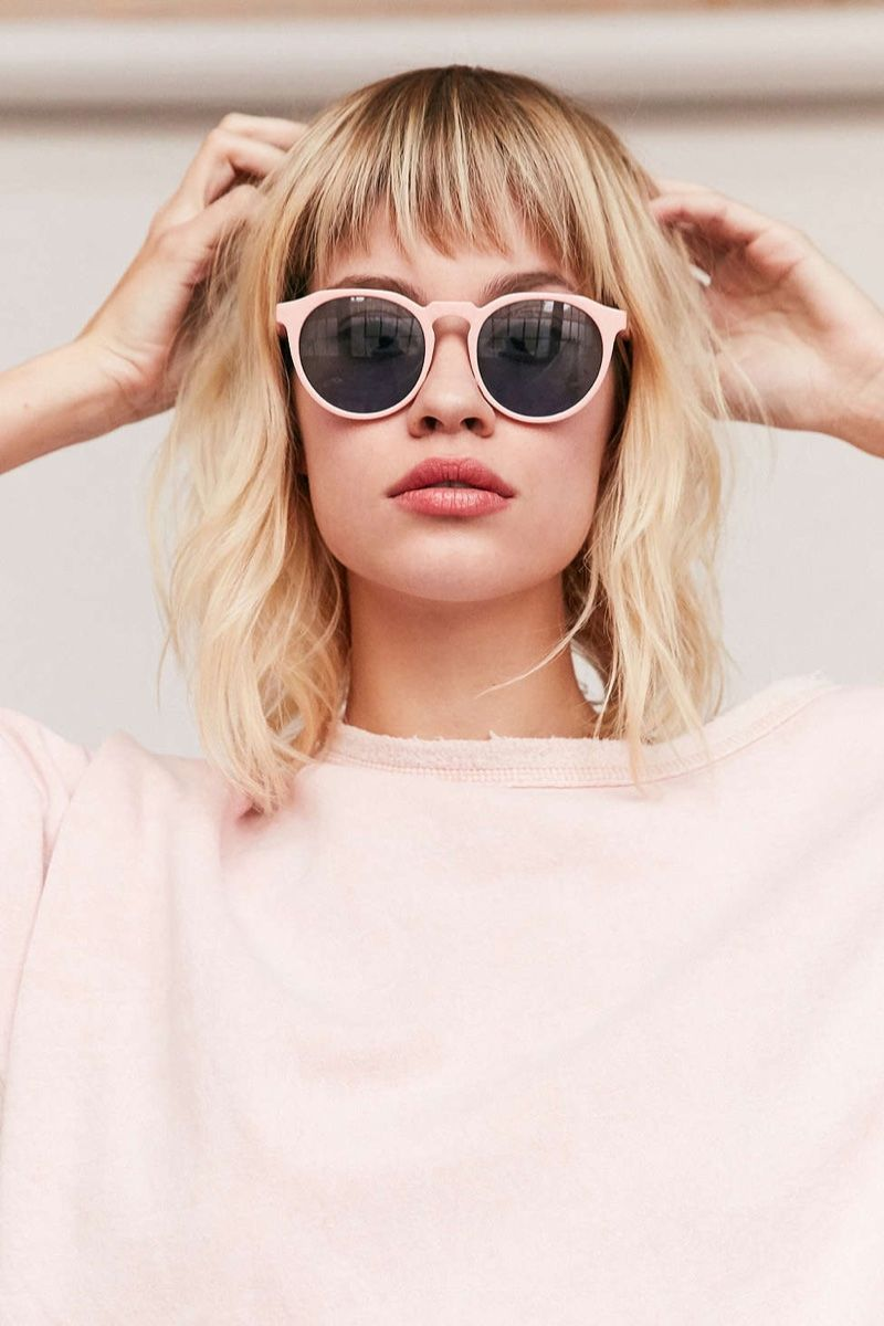 e76c21967c3a9 Look pretty in pink for Urban Outfitter s Every Day Round Sunglasses