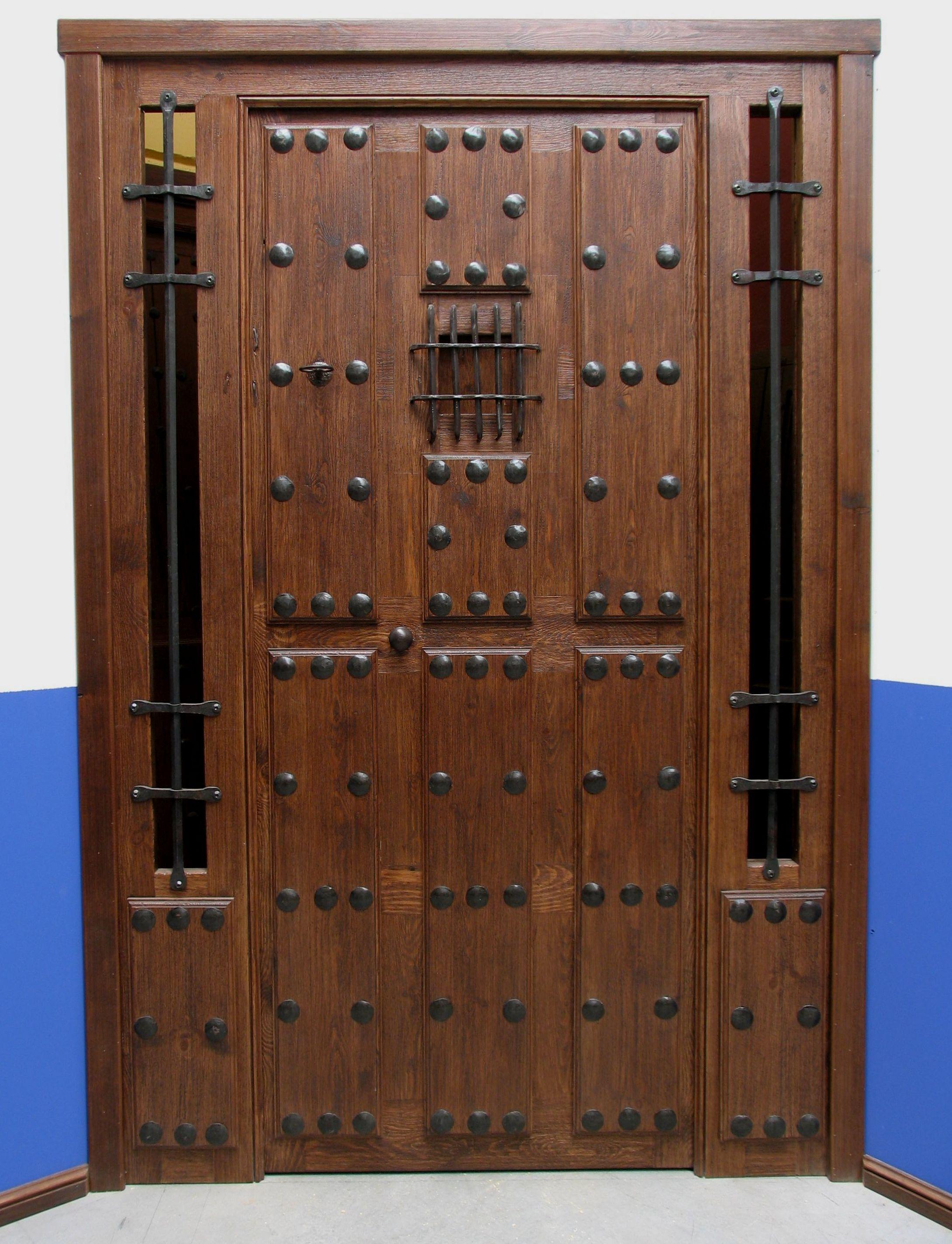 Puerta rustica ref 74 09 puertas chulas puertas for Puertas de calle de madera