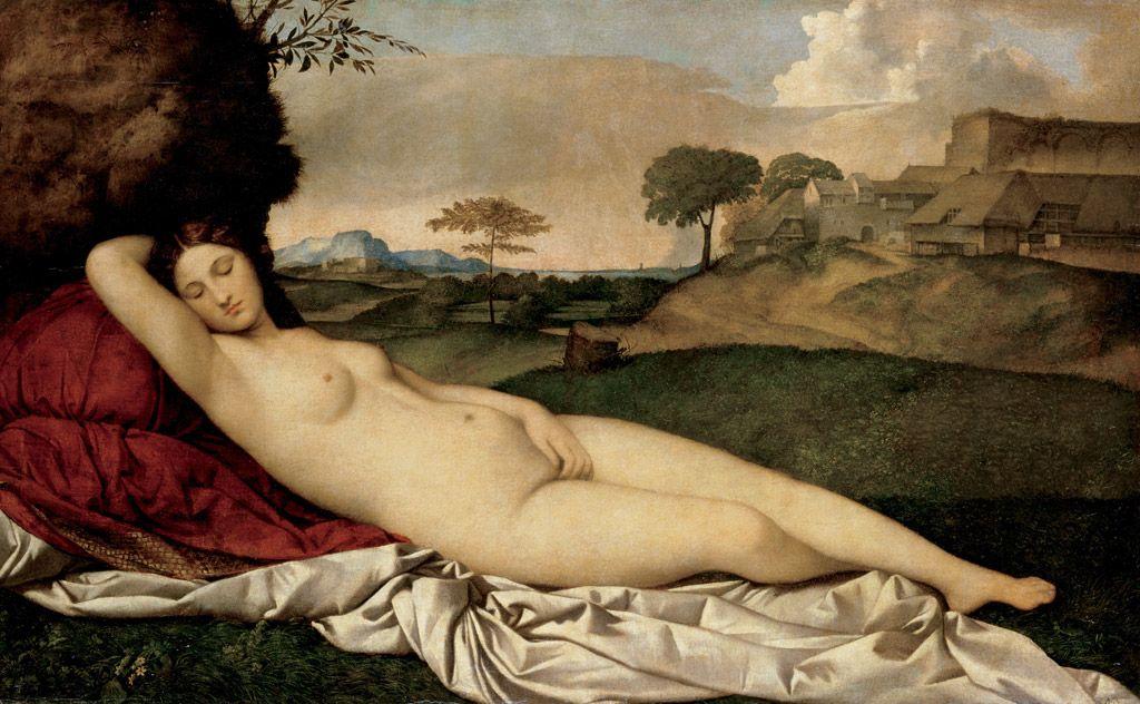 ジョルジョーネ - 眠れるヴィーナス (1508 - 1510)