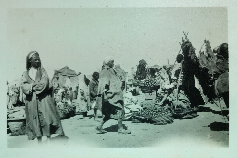 Place Jemaa El Fna Marrakech Maroc Morocco Photo Ancienne Old 1925