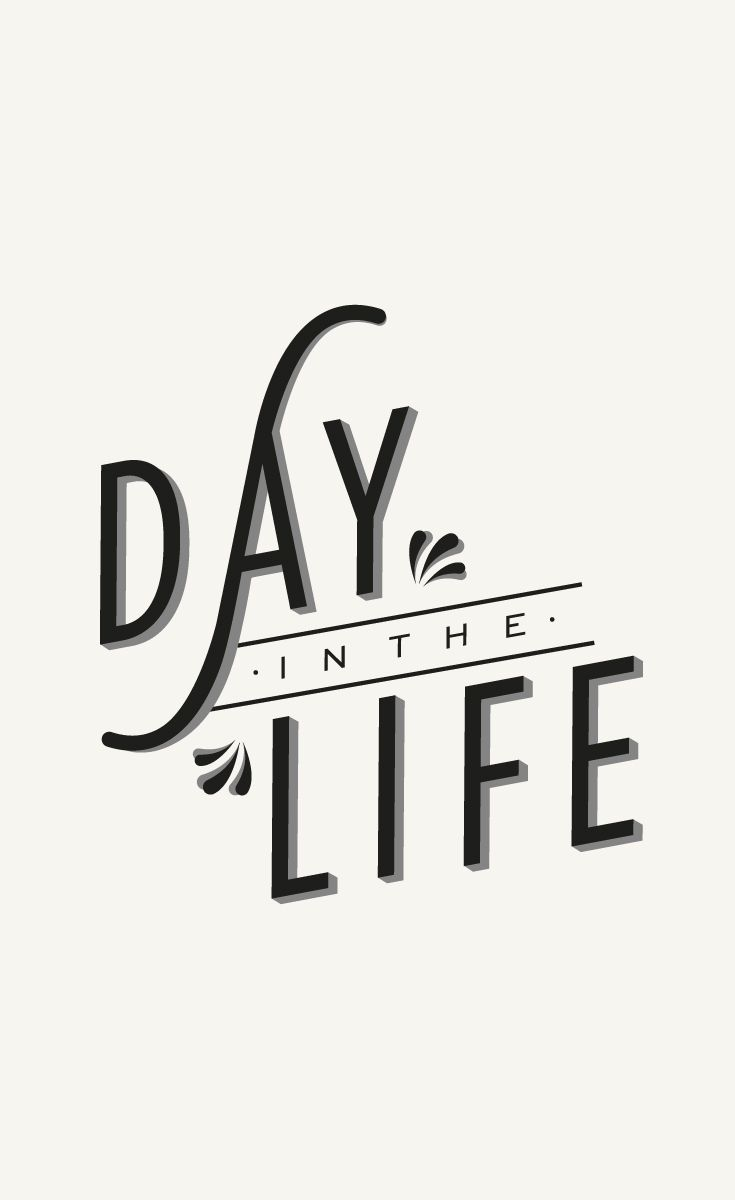 A Day in the Life of two graphic designers. Explore the