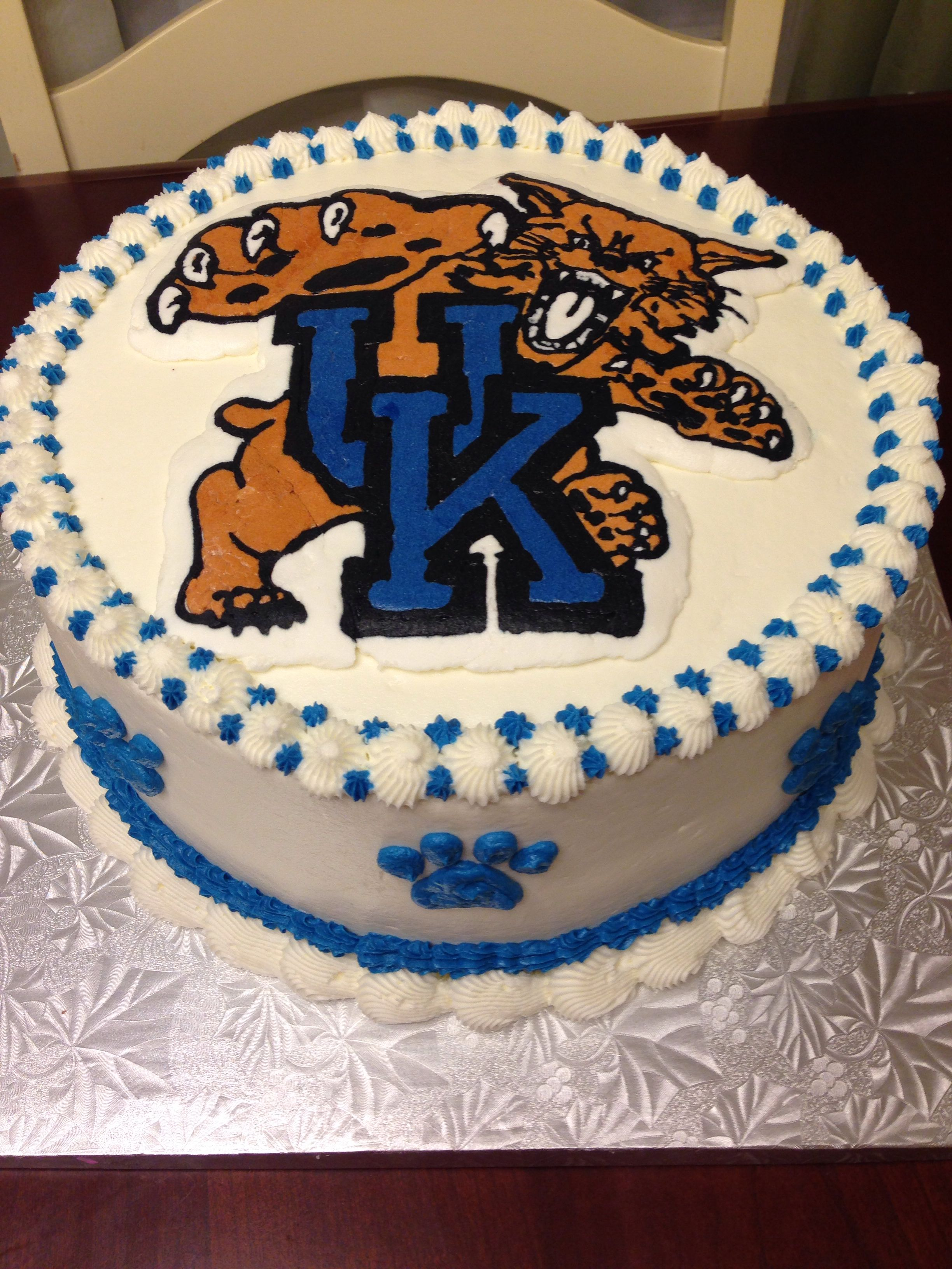 Uk University Of Kentucky Wildcats Cake Cakes Pinterest Uk