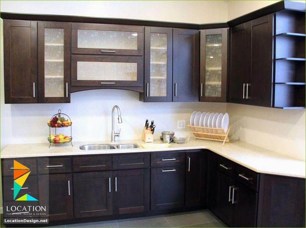 انواع المطابخ الالوميتال لوكشين ديزين نت Contemporary Kitchen Cabinets White Kitchen Decor Kitchen Cabinet Design
